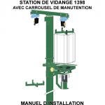 Rédaction technique sur notice d'une station de vidange 1398