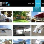 Page des réalisations de l'architecte Patrick Poirier
